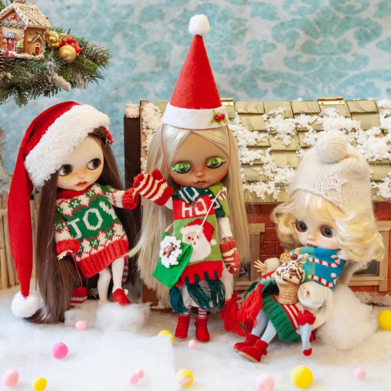 Куклы Блайз новогодняя коллекция - рождество 1
