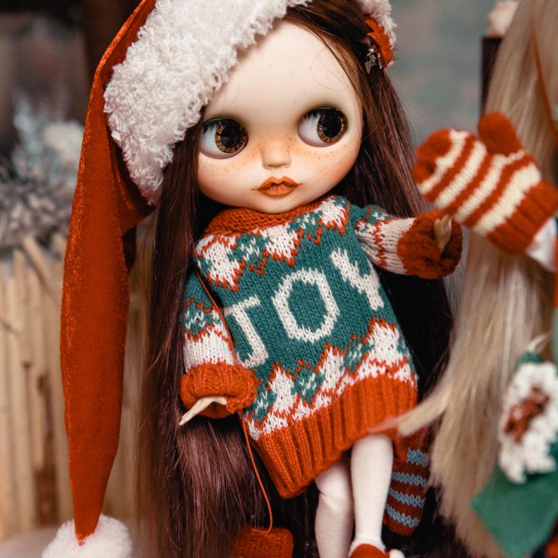 Куклы Блайз новогодняя коллекция - рождество 2
