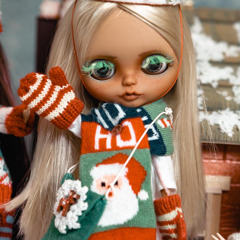 Куклы Блайз новогодняя коллекция - рождество 3