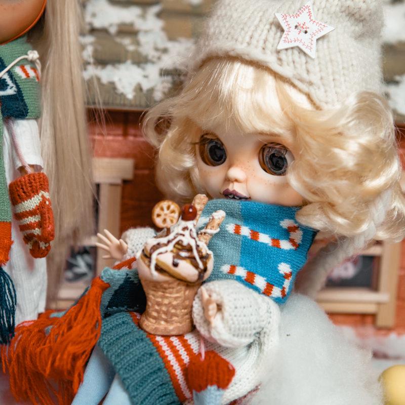 Куклы Блайз новогодняя коллекция - рождество 4