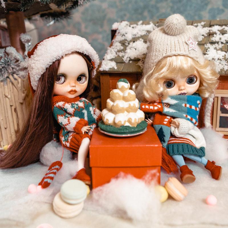 Куклы Блайз новогодняя коллекция - рождество 5