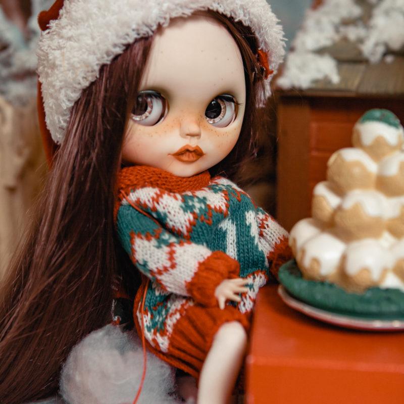 Куклы Блайз новогодняя коллекция - рождество 6