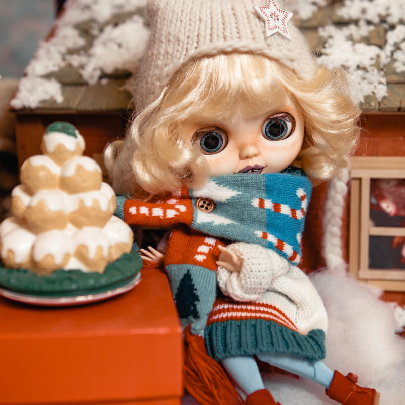 Куклы Блайз новогодняя коллекция - рождество 7