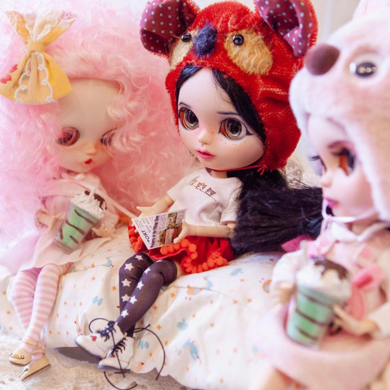 Куклы Блайз в костюмах животных - 2