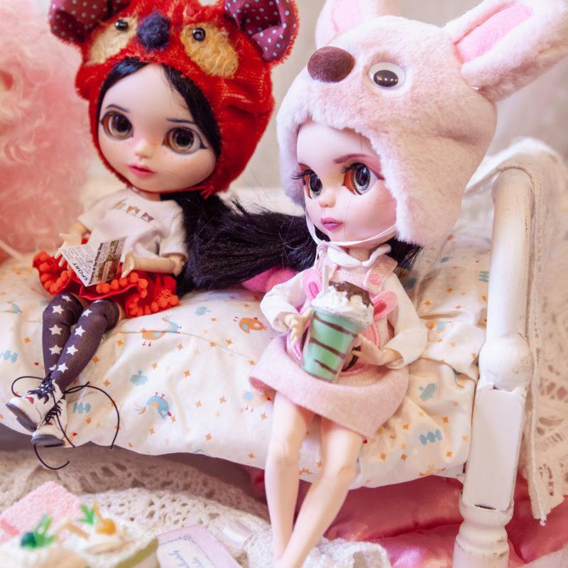 Куклы Блайз в костюмах животных - 3